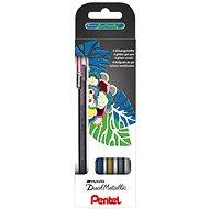 PENTELK110 - 4XZ Hybrid Dual Metallic - 4 darabos készlet - Zselés toll