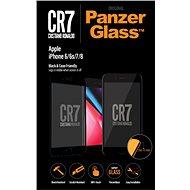 PanzerGlass Edge-to-Edge az Apple iPhone 6 / 6s / 7/8 fekete CR7-hez