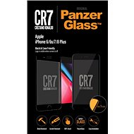 PanzerGlass Edge-to-Edge az Apple iPhone 6 / 6s / 7/8 Plus fekete CR7-hez
