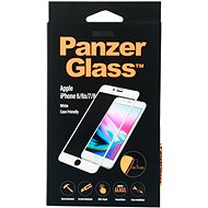 PanzerGlass Edge-to-Edge az Apple iPhone 6 / 6s / 7/8 fehérhez (CaseFriendly) - Képernyővédő