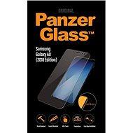 PanzerGlass Edge-to-Edge Samsung Galaxy A8 Plus (2018) átlátszó - Képernyővédő