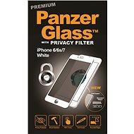 PanzerGlass Premium Privacy képernyővédő az Apple iPhone 6 / 6s / 7/8 számára, fehér - Képernyővédő