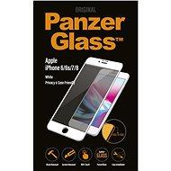 PanzerGlass Edge-to-Edge Privacy Apple iPhone 6/6s/7/8 készülékhez fehér