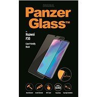 PanzerGlass Edge-to-Edge Huawei P30-hoz, fekete - Képernyővédő