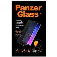 PanzerGlass Premium Privacy Samsung Galaxy S10+ készülékhez, fekete - Képernyővédő