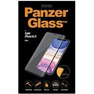 PanzerGlass Premium Apple iPhone Xr/11 készülékhez, fekete - Képernyővédő