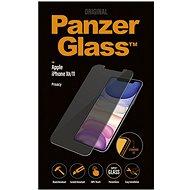 PanzerGlass Standard Privacy Apple iPhone XR/11 készülékhez, átlátszó - Képernyővédő