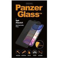 PanzerGlass Edge-to-Edge Privacy Apple iPhone XR/11 készülékhez, fekete - Képernyővédő