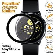 PanzerGlass SmartWatch - Samsung Galaxy Watch Active készülékhez, fekete - Képernyővédő