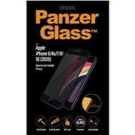 PanzerGlass Edge-to-Edge Privacy Apple iPhone 6/6s/7/8/SE (2020) készülékhez, fekete - Képernyővédő