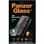 """PanzerGlass Edge-to-Edge Antibacterial 6,7""""-es Apple iPhone-hoz, fekete - Képernyővédő"""