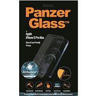 "PanzerGlass Edge-to-Edge Privacy Antibacterial 6,7""-es Apple iPhone-hoz, fekete - Képernyővédő"