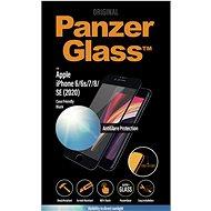 PanzerGlass Edge-to-Edge Apple iPhone 6/6s/7/8/SE-hez (2020) Anti-Glare védelemmel, fekete