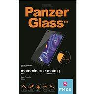 PanzerGlass Edge-to-Edge Motorola One 5G / Moto G 5G Plus fekete - Képernyővédő