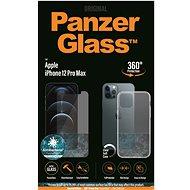 PanzerGlass standard antibakteriális csomag Apple iPhone 12 Pro Max készülékhez (PanzerGlass üveg + átlátszó TPU) - Képernyővédő
