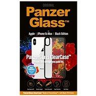 PanzerGlass ClearCase Apple iPhone XS Max-hoz Black Edition - Mobiltelefon hátlap