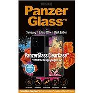 PanzerGlass ClearCase tok Samsung Galaxy S20+ készülékhez - Black Edition - Mobiltelefon hátlap