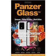 PanzerGlass ClearCase tok Samsung Galaxy S20 Ultra készülékhez - Black Edition - Mobiltelefon hátlap