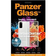 PanzerGlass ClearCase AntiBacterial Samsung Galaxy Note 20 készülékhez - Mobiltelefon hátlap