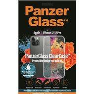 PanzerGlass ClearCase Antibacterial Apple iPhone 12/iPhone 12 Pro készülékekhez - Mobiltelefon hátlap