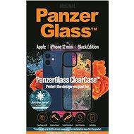 PanzerGlass ClearCase Antibacterial Apple iPhone 12 mini Black edition készülékhez - Mobiltelefon hátlap