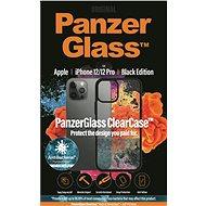 PanzerGlass ClearCase Antibacterial Apple iPhone 12/iPhone 12 Pro Black edition készülékekhez - Mobiltelefon hátlap
