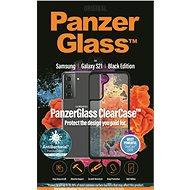 PanzerGlass ClearCase Antibacterial - Samsung Galaxy S21 Black edition - Mobiltelefon tok