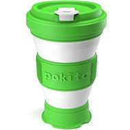 POKITO Összehajtható kávésbögre 3 az 1-ben limezöld - Bögre