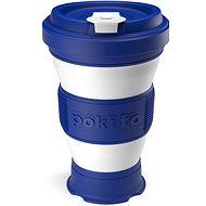 POKITO Összehajtható kávésbögre 3 az 1-ben áfonyakék - Bögre