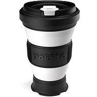 POKITO Összehajtható kávésbögre 3 az 1-ben szederfekete - Bögre