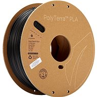 Polymaker PolyTerra PLA szénfekete - 3D nyomtatószál