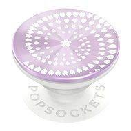 Telefontartó PopSockets PopGrip Gen.2, Backspin Infinite Blossom, forgatható, lila / fehér
