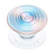 Telefontartó PopSockets PopGrip Gen.2, Ripple Opalescent Blue, opálos, 3D fehér-kékes