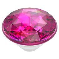 PopSockets PopTop Gen.2 Disco Crystal Plum Berry - Tartó