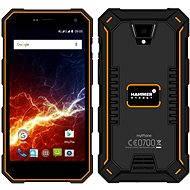 MyPhone Hammer Energy orange-black - Mobiltelefon