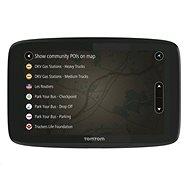 TomTom GO Professional 520 EU LifeTime térképek - GPS navigáció