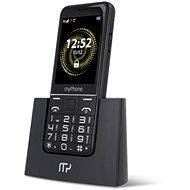 myPhone Halo Q Senior, fekete - Mobiltelefon