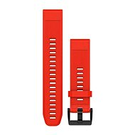 Garmin QuickFit 22 szilikon, piros - Szíj