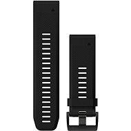 Garmin QuickFit 26 fekete szilikon - Szíj