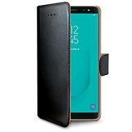 CELLY Wally tok Samsung Galaxy J6 készülékhez fekete - Mobiltelefon tok