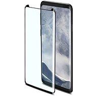 CELLY 3D Glass Samsung Galaxy S9 Plus készülékhez, fekete - Képernyővédő