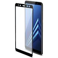 CELLY 3D Glass Samsung Galaxy A8 (2018) számára, fekete - Képernyővédő
