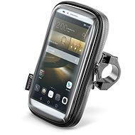 """Interphone SMART - max. 6.5""""-es telefonokhoz, kormányra, fekete - Mobiltelefon tok"""