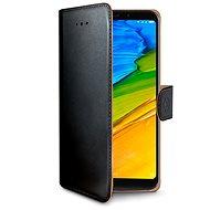 CELLY Wally Huawei Y7 (2018)/Y7 Prime-hoz (2018) fekete - Mobiltelefon tok