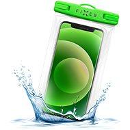 FIXED Float Edge reteszelő rendszerrel és IPX8 tanúsítvánnyal lime - Mobiltelefon tok