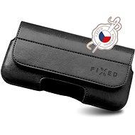 Mobiltelefon tok FIXED Sarif vízszintes 6XL + fekete - Pouzdro na mobil