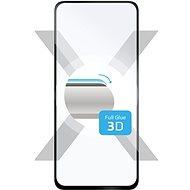 FIXED 3D FullGlue-Cover Samsung Galaxy A52/A52 5G/A52s 5G készülékre fekete - Képernyővédő