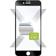 FIXED FullGlue-Cover Apple iPhone 7/8/SE (2020) készülékhez - fekete - Képernyővédő