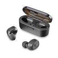 Cellularline Shadow, fekete - Mikrofonos fej-/fülhallgató