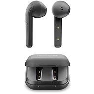 Cellularline Java fülhallgató töltőtokkal, fekete - Vezeték nélküli fül-/fejhallgató